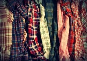 Bufandas de cuadros